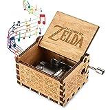 MOGOI Boîte à Musique en Bois Motif La légende de Zelda