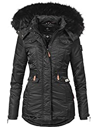 01a90db976a3 Navahoo Damen Winter-Jacke Winter-Mantel Steppmantel Schätzchen (Vegan  Hergestellt) 8 Farben