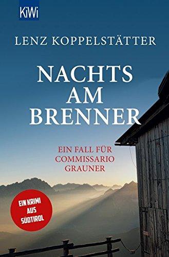 Buchseite und Rezensionen zu 'Nachts am Brenner' von Lenz Koppelstätter