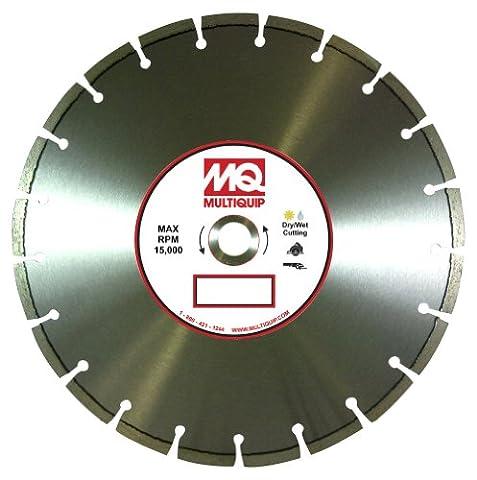 Multiquip 45GPS Standard première qualité 510Segmentés Lame diamant, 11,4cm X 0,2cm