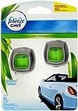 Car Air Freshener Febreze Economy Twin Pack Morning Dew Clip-on Car Vent Air Freshener