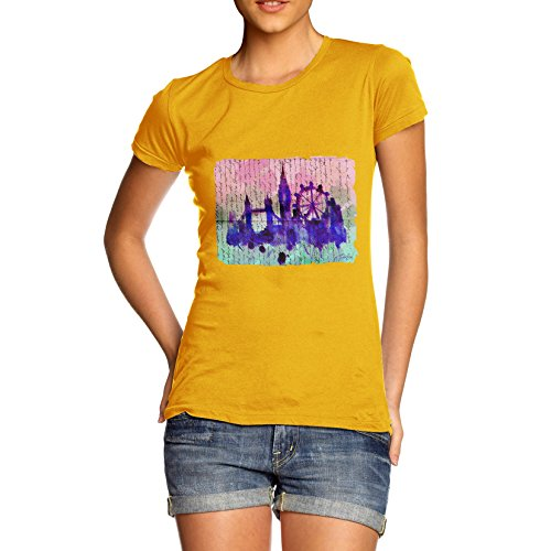 twisted-envy-libro-stampa-london-skyline-maglietta-da-donna-yellow-x-large
