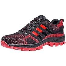 Scarpe Lavoro Sneaker Sportive Acciaio Trekking Antinfortunistiche Estive Scarpa Ginnastica Da Uomo RZd6fxH