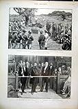 Steigendes Parlamentarisches Geldverleih 1897 Bechuanaland