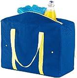PEARL Größenverstellbare Nylon-Kühltasche 4-21 Liter