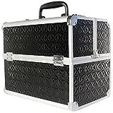ALU Beauty Case Kosmetikkoffer Werkzeugkoffer Multikoffer Schminkkoffer Koffer schwarz Neu Maße: (Länge) 32cm x (Breite) 21 cm x (Höhe) 26 cm