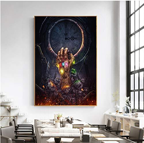 cptbtptp Leinwand Malerei Movie Poster War Marvel Wandbilder Für Wohnzimmer Moderne Dekoration 50x70 cm (Marvel-leinwand-tasche)