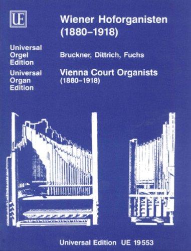 Universal Edition Diverse–Wien corto Organists Band 1–Organ Partition clásico Piano–instrumento de teclado órgano