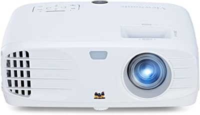 Viewsonic PX700HD 3D Heimkino DLP Projektor (Full-HD, 3.500 ANSI Lumen, HDMI, 2 Watt Lautsprecher, 1,1x optischer Zoom) Weiß