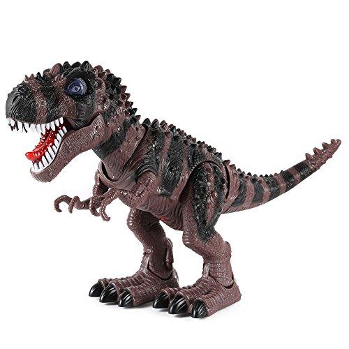 Zantec Kinder Pädagogischer Riesen Elektrischer Tyrannosaurus Luminous Walking Dinosaurier Spielzeug