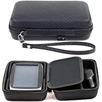 "Digicharge Black Hard Carry Case For TomTom Go Basic 6"" Essential 6 Inch 6200 6250 6100 Go 620 610 Go CAMPER GO 61 Go Professional Tom Tom BV Go Basic 6 Inch With Accessory Storage and Lanyard"