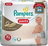 Pampers Premium Care Baby Diapers, XL 28 Pieces