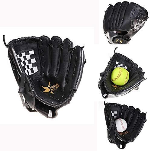 QTDH Baseball-Softball-Schlaghandschuhe - Professionelle Baseball-Handschuhe - PU-Pitcher-Softball-Handschuhe - Pitcher-Wurfhandschuhe - Erwachsene Jugendkinder (Size : 11inch) (Softball-handschuh-11 Zoll)