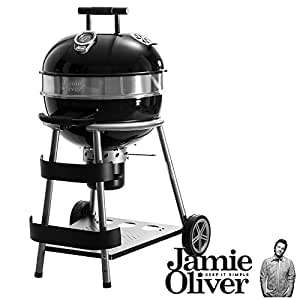 jamie oliver classic grill bbq charcoal garden outdoors. Black Bedroom Furniture Sets. Home Design Ideas