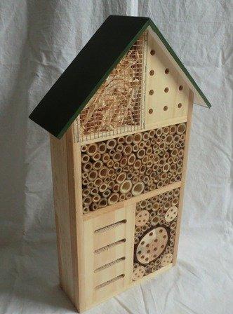 XXL Insektenhotel Insektenhaus Bienenhotel Nistkasten Brutkasten Nist- und Überwinterungsplatz für nützliche Insekten