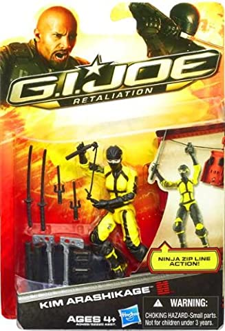 Jinx Kim Arashikage GI Joe Retaliation Wave 2 Action