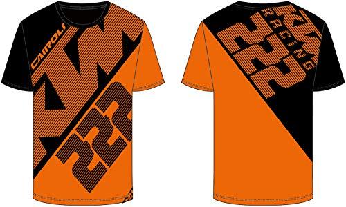VR46 Tony Cairoli 222 Moto Cross Racing Dual KTM Maglietta T-shirt Ufficiale 2018 (XL)