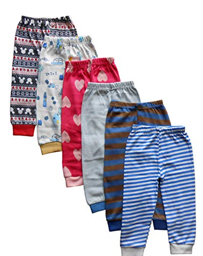 NammaBaby Cotton Pyjamas for Infants (98656565, Multicolour, 18-24 months) - Set of 6