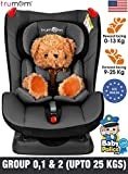 TRUMOM (USA) Baby Convertible Sports Car Seat for Kids 0 to 7 Years Old (Upto 25 kgs) ...