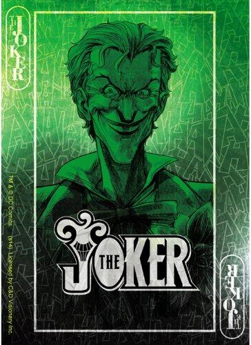 "DC COMICS JOKER WILD CARD, Officially Licensed Original Artwork, 3.5"" x 5"" - Sticker DECAL autocollant"