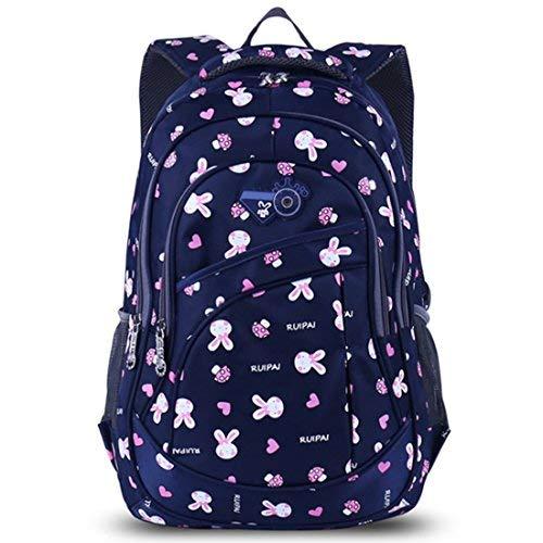 218f682282 AnKoee zaino scuola bambina elementare Zaino Borsa Backpack Zainetto Zaini  Scolastici Zainetti per Bambini Ragazza (