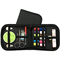 Hemore Mini-Nähset für Notfall-Kleidung, Reparaturen für Kinder, Erwachsene, Anfänger, Nadeln, Zubehör, 1 Set