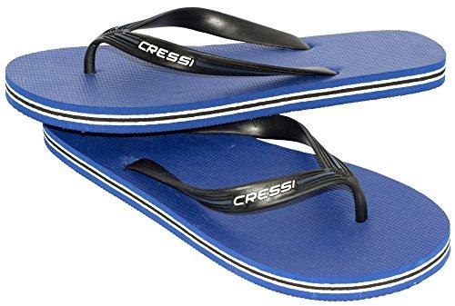 Cressi Swim Jungen Zehensandale Bahamas Junior, Azurn, 33/34, VB954533 - Bahama Herren Schuhe