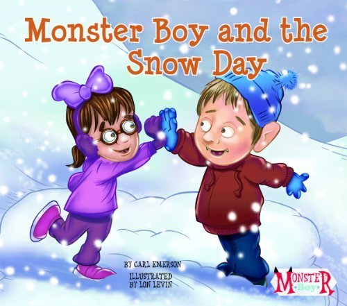 Monster Boy and the Snow Day by Carl Emerson (Boy Wagon)