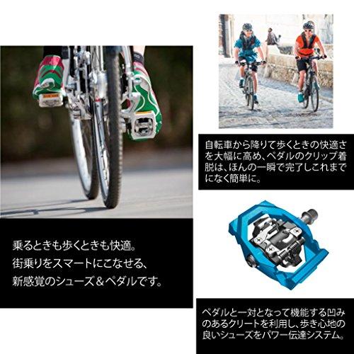 Shimano Sh-Ct80, Chaussures de Vélo de route homme Noir - Multicolore