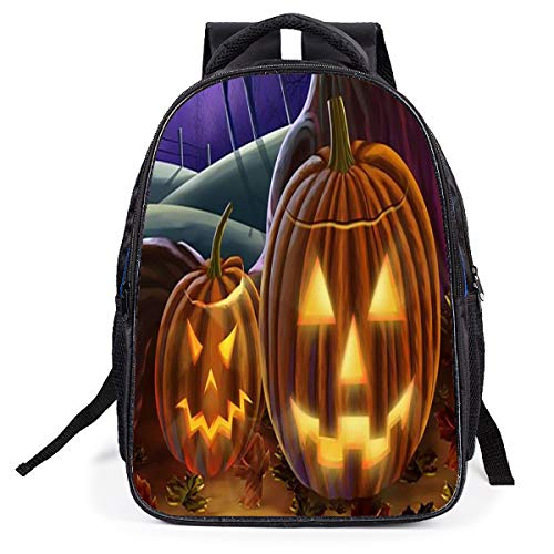 Kinderrucksack Halloween Anime Cartoon Tasche Junge Mädchen Tasche