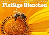 Fleißige Bienchen (Tischkalender 2018 DIN A5 quer): Fotos von Honigbienen bei Ihrer fleißigen Arbeit (Monatskalender, 14 Seit