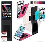 reboon Hülle für Archos Diamond 2 Plus Tasche Cover Case Bumper | Pink | Testsieger