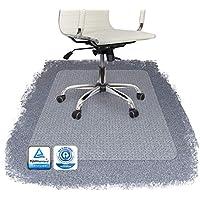 PERFORMA Bodenschutzmatte PET Teppichböden mit TÜV und Blauer Engel - 4 Größen wählbar - 117x153cm