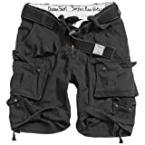 Trooper Division Shorts, schwarz, Größe L