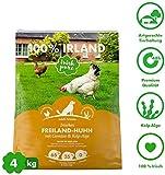 Irish Pure Adult Freiland-Huhn mit Kelp-Alge & Gemüse - Trockenfutter für Hunde, Hoher Fleischanteil,...