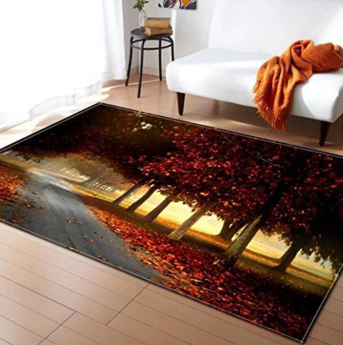 Teppichen Creative Light- 3D-Bereich MultiWare/Anti-Skid/Soft Pile Traditionelle Wohnzimmer Schlafzimmer Küche Innen Matte Bedside Blanket (Farbe : #4, größe : 150x200cm) - Luxus Traditionelle Teppich