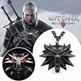 The Witcher 3 - Witcher Wolf Médaillon