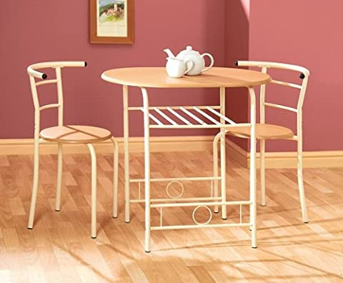 Greenhurst Compact Dining Set with Buttermilk Frame