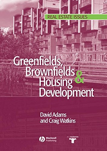 [(Greenfields, Brownfields and Housing Development)] [By (author) David Adams ] published on (October, 2002)