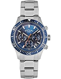 Rotary Mens GB00358/05 Silver Chronograph Watch
