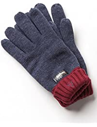VEDONEIRE Men's Thinsulate Gloves (3120) Denim Red
