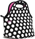 "Creative Tops ""Black & White Spots"" Built Ny Gourmet Getaway Neoprene Lunch Tote Bag"