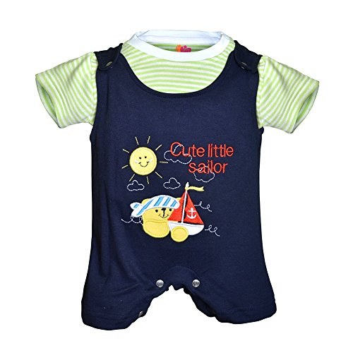 [Sponsored Products]Orange And Orchid Baby Boys Cotton Tops & Bottoms Sets