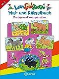 LernSpielZwerge Mal- und Rätselbuch – Farben und Konzentration