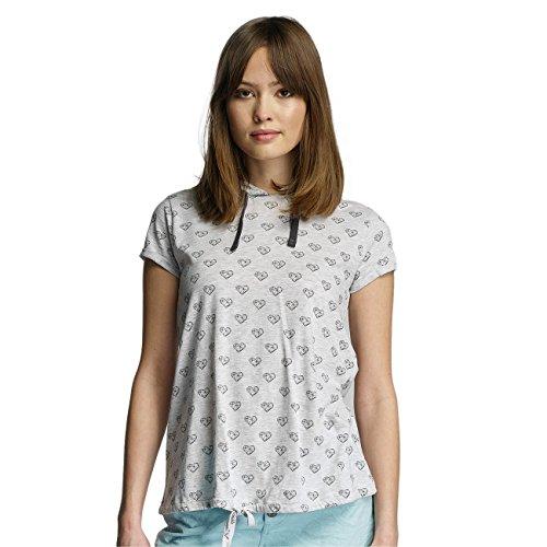 Sublevel Damen Oberteile / T-Shirt Hearts Grau