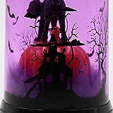 TAOtTAO 1 Stück Halloween Kerze mit LED Teelicht Kerzen für Halloween Dekoration Teil (A)