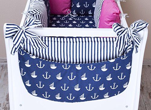 Amilian® Betttasche Spielzeugtasche Design51 Babybetttasche Windelntasche Spielzeughalter für Kinderbett NEU