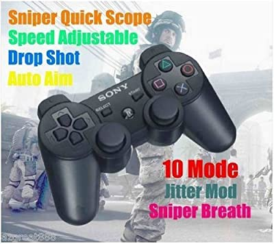 Limited PlayStation PS3 Rapid Fire Modded DualShock3 Controller Quick Scope 10 Mode