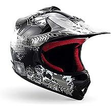 NEU TOPPREIS Nitro Cross Crosshelm Quad Helm für Kinder Motorradhelm Helm orange