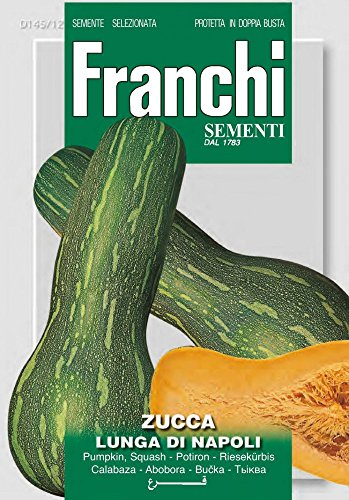 Kürbissamen - Riesenkürbis Lunga Di Napoli von Franchi Sementi